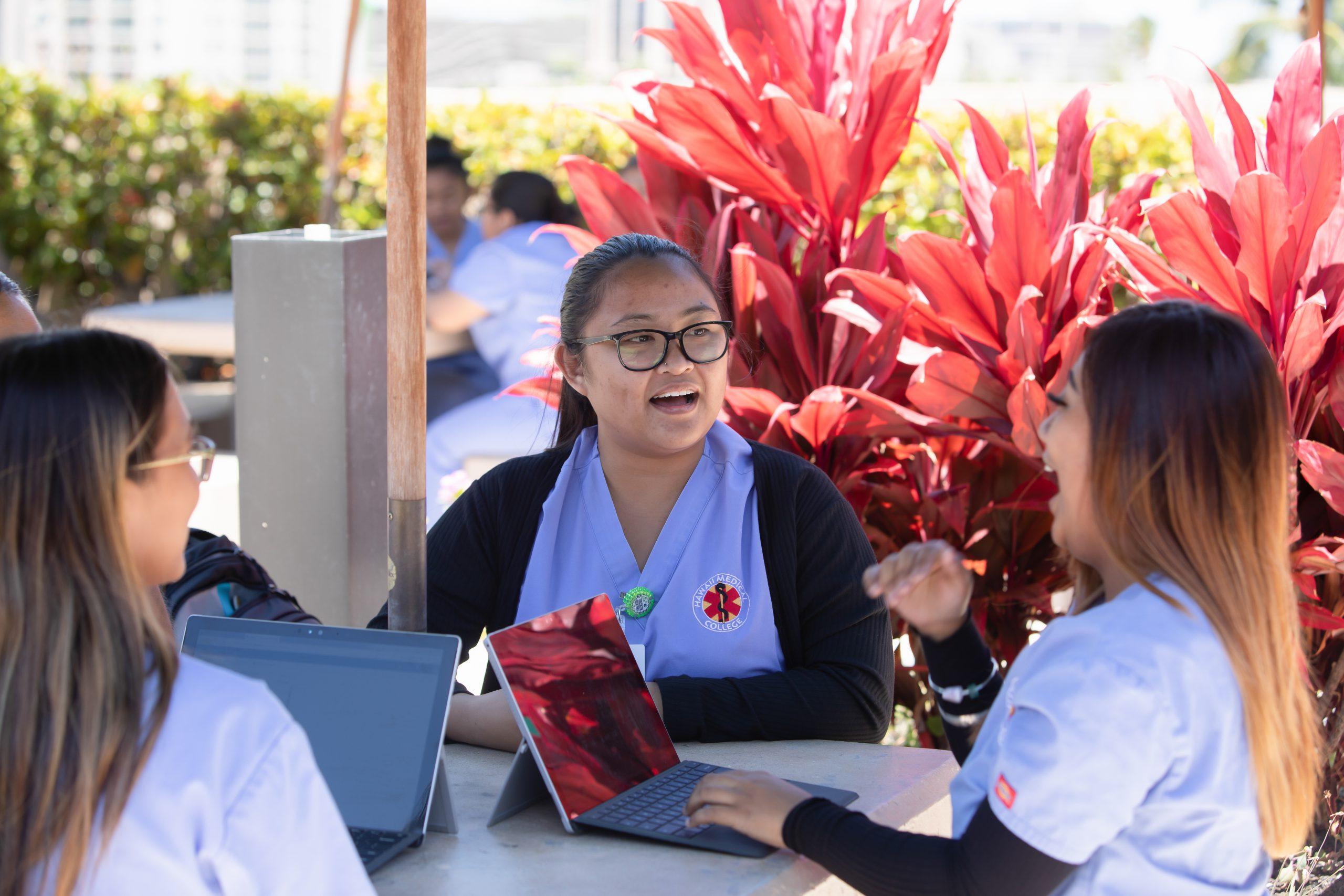 Hawaii Medical College Student Photos